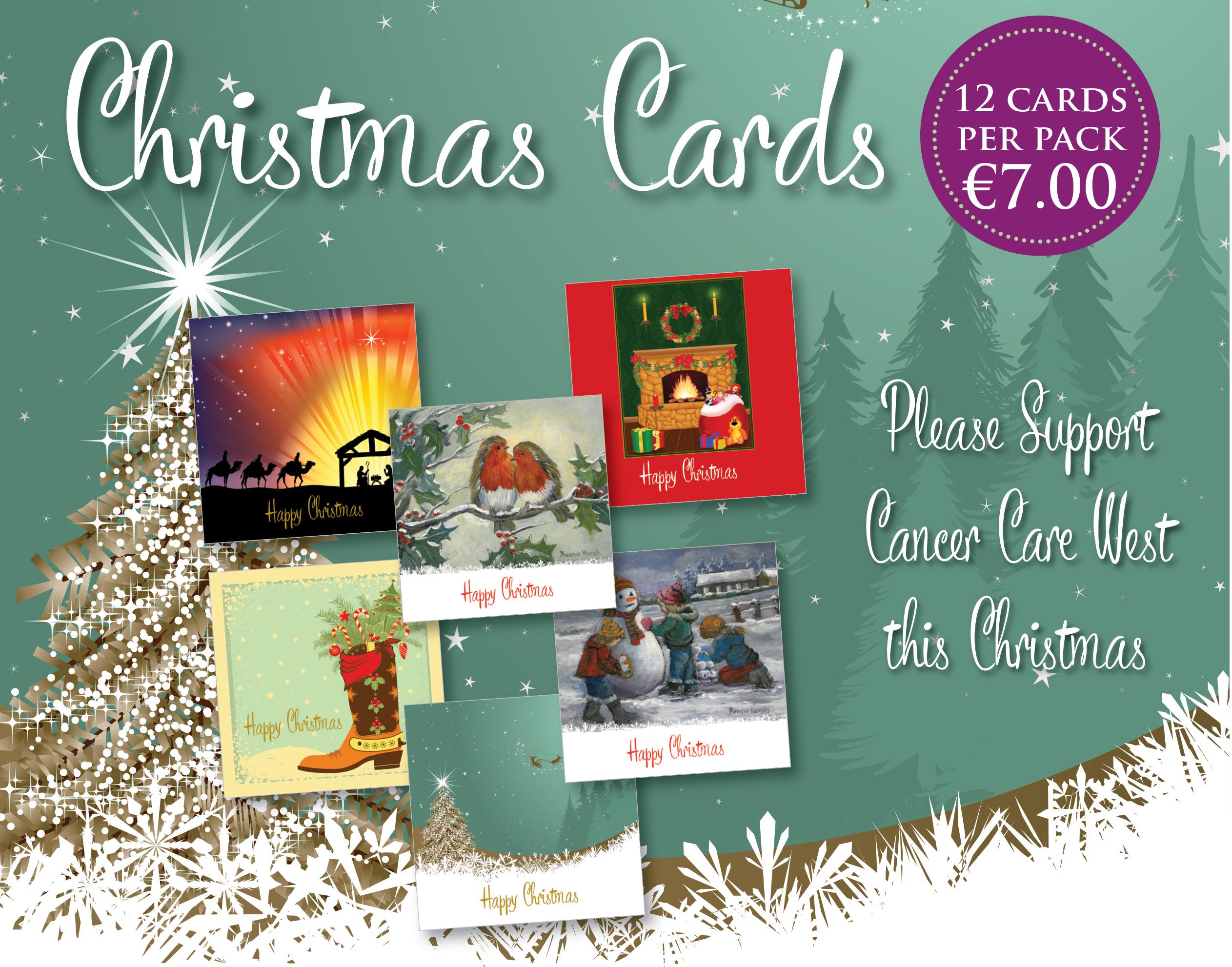 Cancer Care West Christmas Card A4 Qp21886 Cancer Care West
